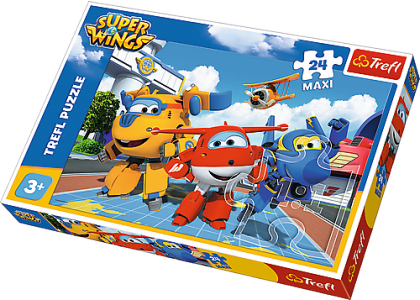 Super Wings: Wesołe samoloty Puzzle 14252