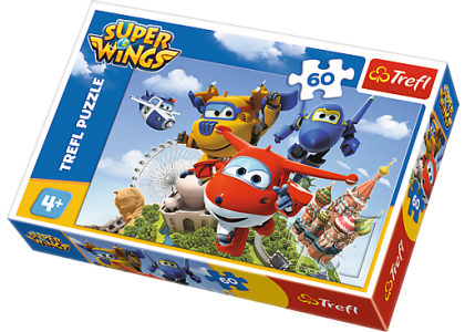 Super Wings: Lot dookoła świata Puzzle 17307