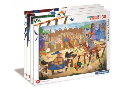 Puzzle ramkowe Once Upon a Time... 30 elementów  Puzzle Clementoni 22108