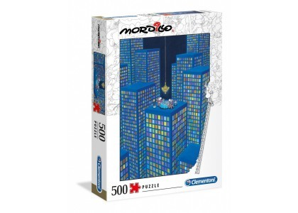 Mordillo The Dinner 500 elementów Puzzle Clementoni 35077