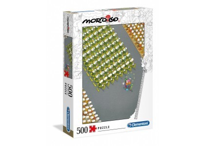 Mordillo The March 500 elementów Puzzle Clementoni 35078