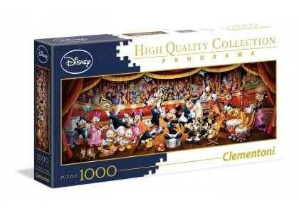 Orkiestra Disney'a Panorama 1000 elementów Puzzle Clementoni 39445