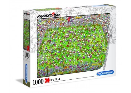 Mordillo The Match 1000 elementów Puzzle Clementoni 39537
