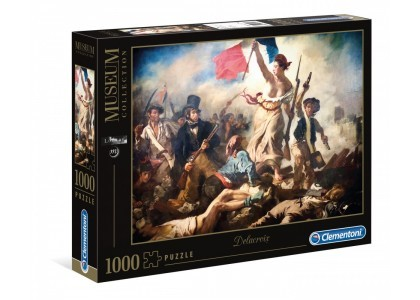 Museum Liberty Leading the People 1000 elementów Puzzle Clementoni 39549
