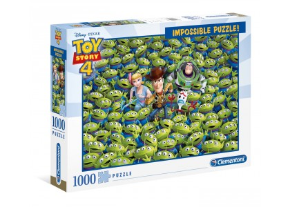 Impossible Puzzle Toy Story 4 1000 elementów Toy Story 39499