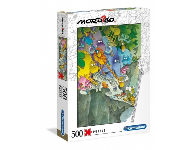 Mordillo The Surrender 500 elementów Puzzle Clementoni 35080